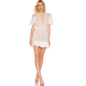 Make Offer Saylor Luka Eyelet Mini Dress Large